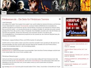 Filmboersen.de - Filmbörsentermine